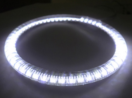 Coppia Angel Eyes Ring Anello Led Diametro 90mm