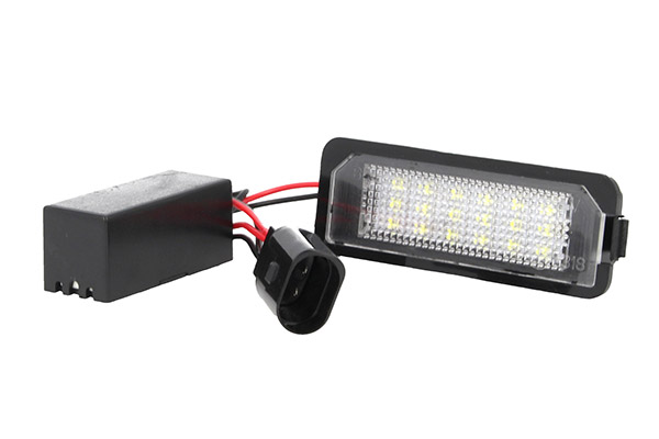 Plafoniere Targa Golf 7 : Globoshop e commerce kit luci targa led vw golf