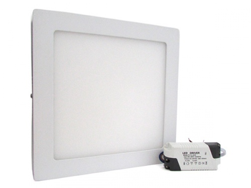 Plafoniera a led quadrata : Globoshop e commerce plafoniera faretto led da soffitto muro