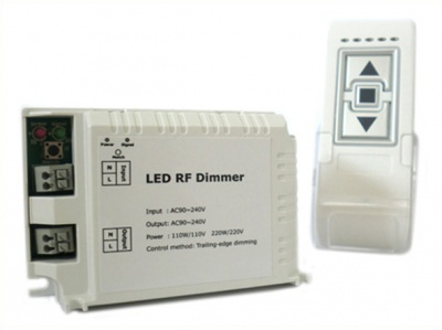 Varialuce Led Triac Dimmer SCR 220V 200W Telecomando Wireless Per Luci Lampade Led Dimmerabile DM014